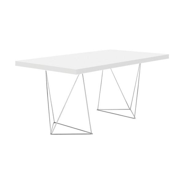Biely stôl TemaHome Multi,180cm