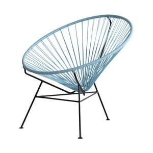 Kreslo Condesa, holubia modrá, dĺžka 78 cm