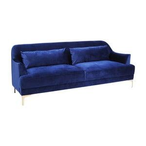 Modrá pohovka pre 3 Kare Design Proud