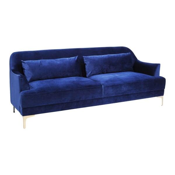 Modrá trojmiestna pohovka Kare Design Proud
