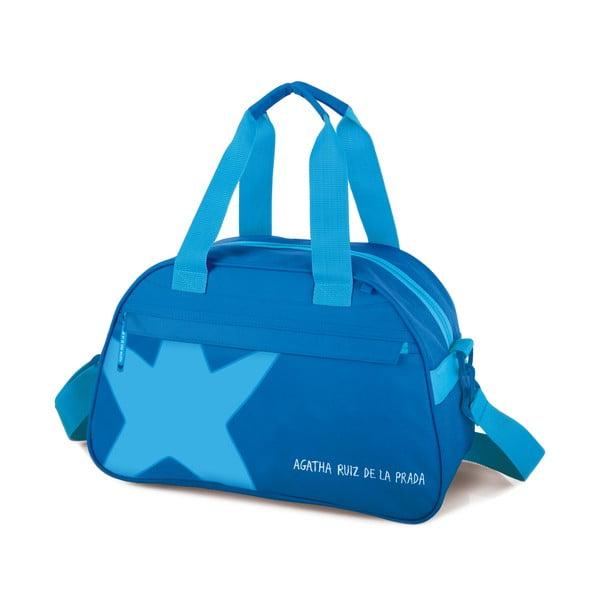 Cestovná taška Agatha, modrá