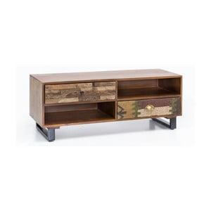 Komoda s 2 zásuvkami z masívneho mangového dreva Skyport PATNA