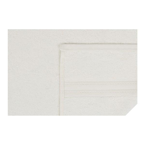 Krémová bavlnená osuška Lavinya, 70×140 cm
