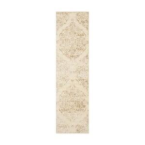 Béžový koberec Safavieh Marigot, 66 x 243 cm