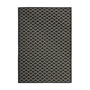 Koberec vhodný aj do exteriéru Gwen Black, 121x170 cm