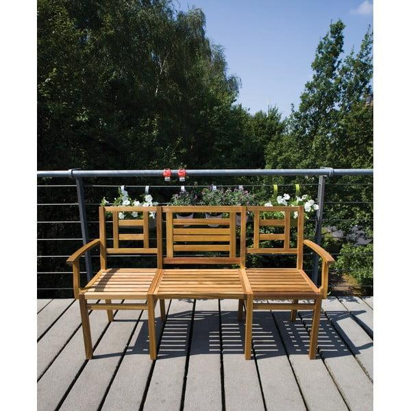 Skladacia drevená lavica Chat