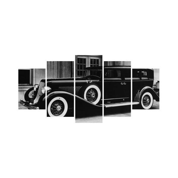 Viacdielny obraz Black&White no. 96, 100x50 cm