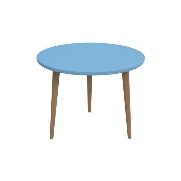 Stôl D2 Bergen, 60 cm, modrý