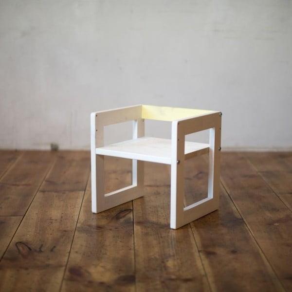 Detská stolička Just Yellow