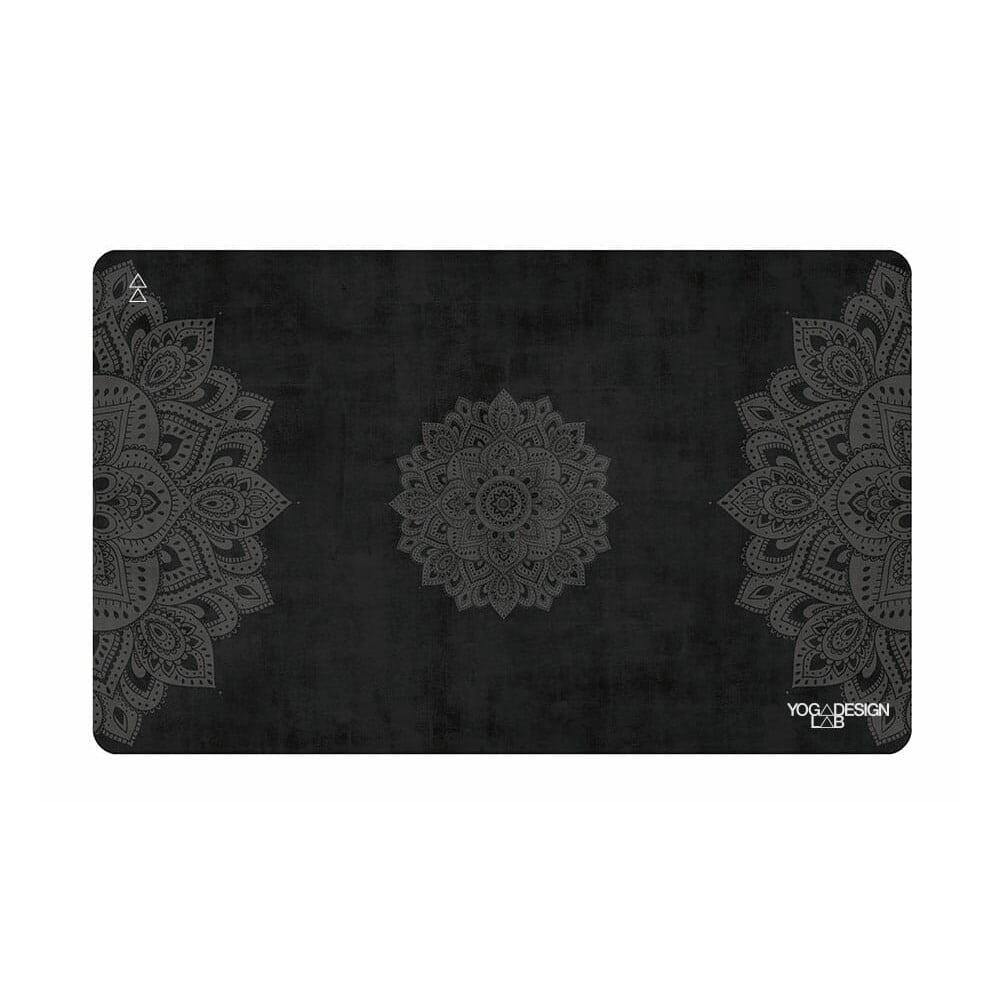 Malý uterák na jogu Yoga Design Lab Mandala Black