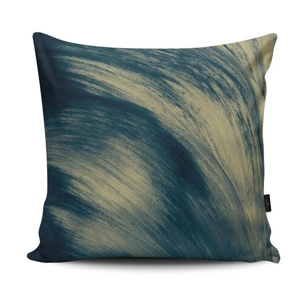 Vankúš Blow Blue Green, 33x33 cm