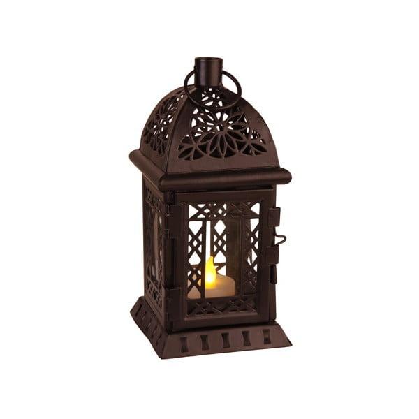 LED lampáš Lantern 20 cm, čierny