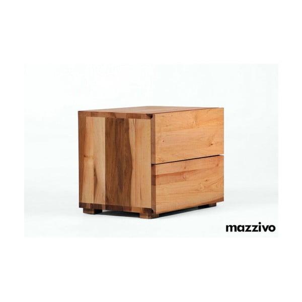 Nočný stolík z jelšového dreva MazzivoBorgo