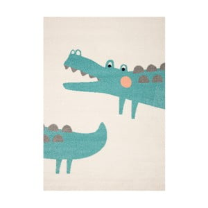 Detský koberec s motívom krokodíla Hanse Home, 170×120 cm