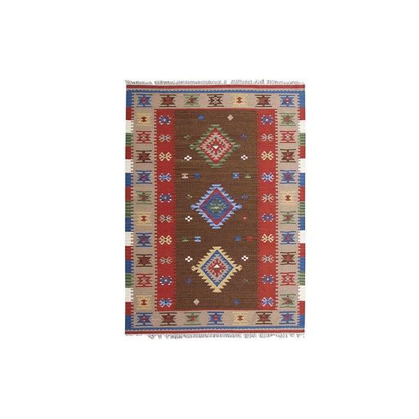 Ručne tkaný koberec Kilim Classic K39, 155x215 cm