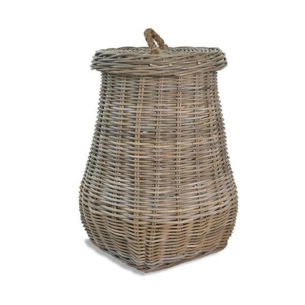 Pletený kôš na špinavú bielizeň z ratanu Garden Trading Bembridge