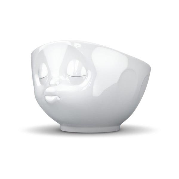 Biela bozkávajúca miska 58products