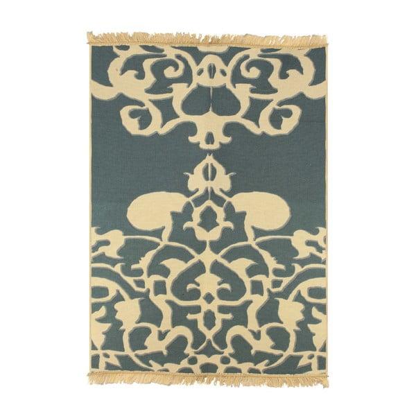 Modrý koberec Floorist Agac Blue Beige,60x90cm