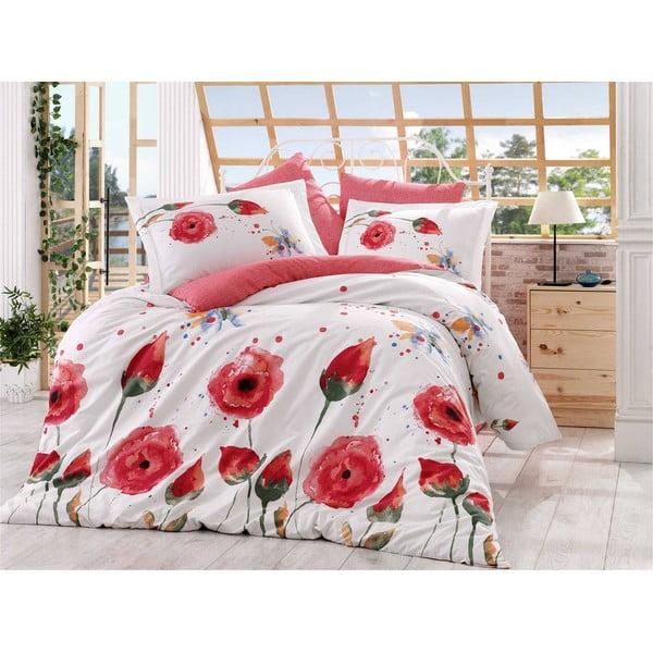 Obliečky s plachtou Veronika Red, 160x220 cm