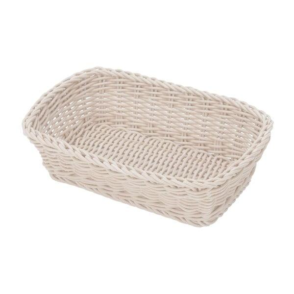 Košík Korb White, 26,5x19x7 cm