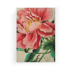 Obraz zo zamatového plátna Velvet Atelier Japan, 50×70 cm