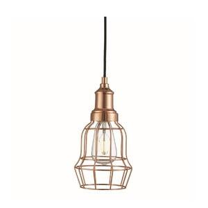 Stropné svetlo Bell Cage Copper
