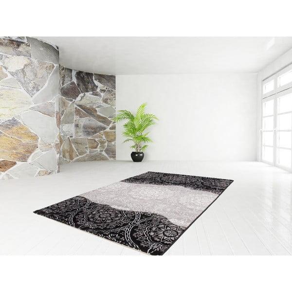 Koberec Dona Black, 80x150 cm