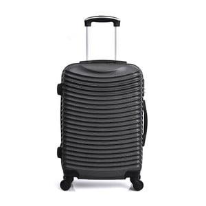 Čierny cestovný kufor na kolieskach Hero Etna, 36l