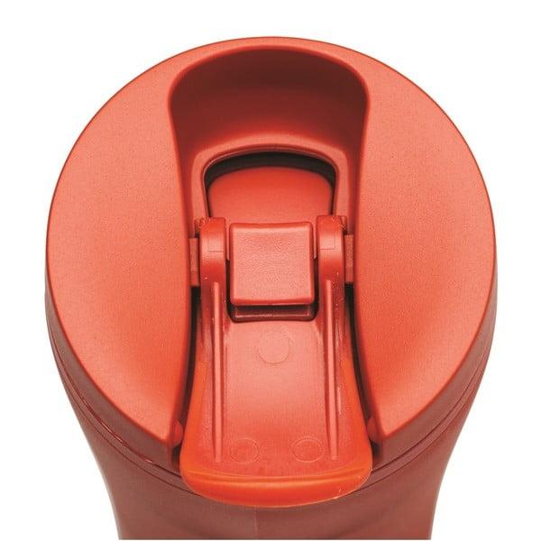 Červený termohrnček Aladdin eCycle Flip-Seal ™, 350ml