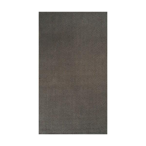 Jutový koberec Linie Design Mendoza Charcoal, 130x190 cm