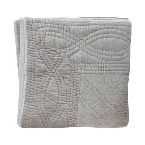 Prikrývka na posteľ Gris, 130x180 cm