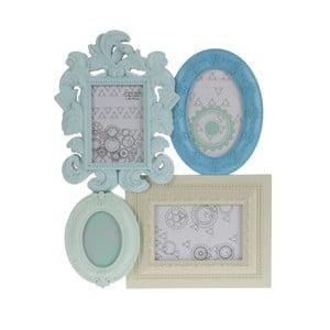 Fotorámik so štyrmi sekciami Blue Mint