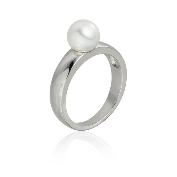 Perlový prsteň Jeanne White, veľ. 52