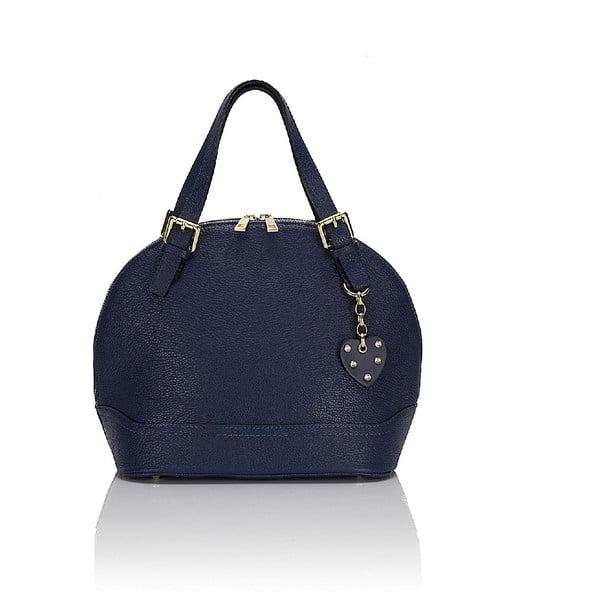 Kožená kabelka Giorgio Costa 15009 Blue