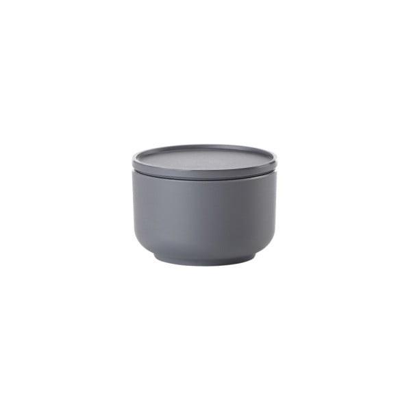 Tmavosivá servírovacia miska s vrchnákom Zone Peili, 250 ml