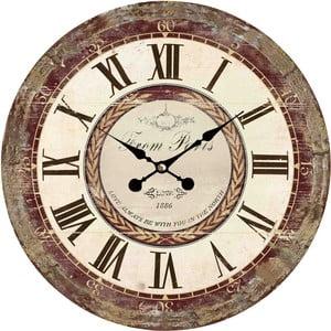 Nástenné hodiny Flair Vintage, 34 cm