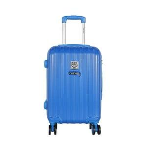 Modrý príručný kufor LULU CASTAGNETTE Edge, 44 l