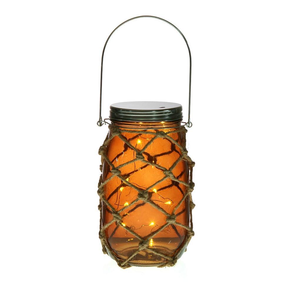 Oranžový LED lampáš Versa Bottle