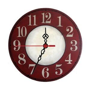 Nástenné hodiny Red Trouble, 30 cm