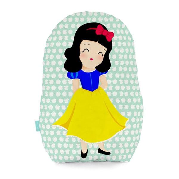 Bavlnený vankúšik Mr. Fox Snow White, 40 x 30 cm