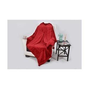 Deka s prímesou bavlny Dolce Bonita Vizon, 150 × 100 cm