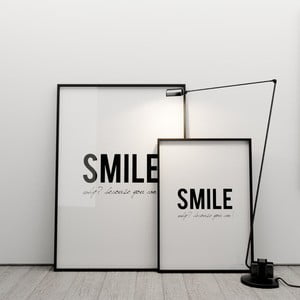 Plagát Smile! Why? Because you can!, 50x70 cm