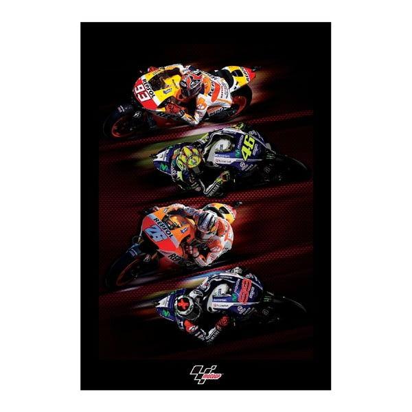 Veľkoformátová tapeta Moto GP, 158x232 cm