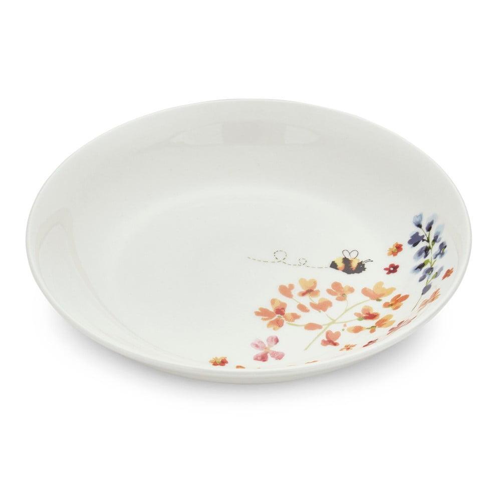 Porcelánový tanier na cestoviny Cooksmart England Flowers, Ø 22,5 cm