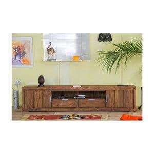 TV stolík zpalisandrového dreva, 205x45cm