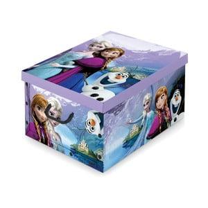 Úložný box na hračky Domopak Frozen, 24x39cm
