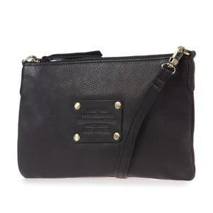 Čierna kožená kabelka O My Bag The Betsy Naked