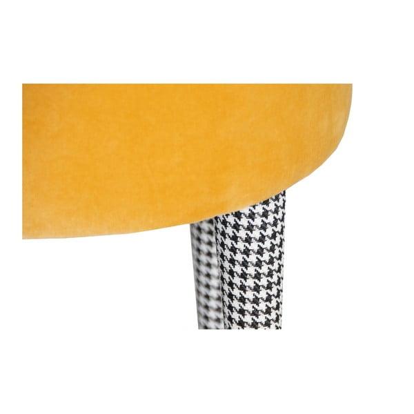 Taburetka Pepi, žltá