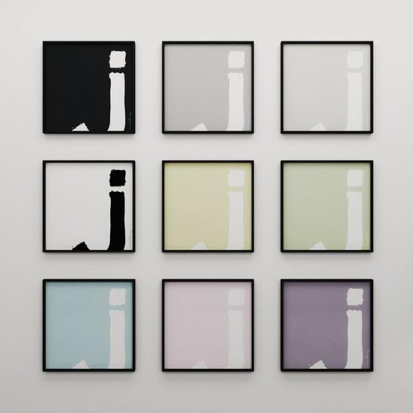 Plagát Litera J, 50x50 cm