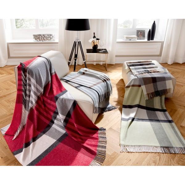 Deka Karo Grey, 150x200 cm